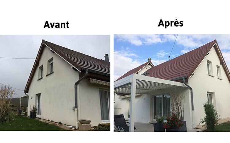 Ravalement armé des façades et du soubassement finition D3 STOSILCO, garantie STO 10 ans - HOME ENERGIE CONCEPT