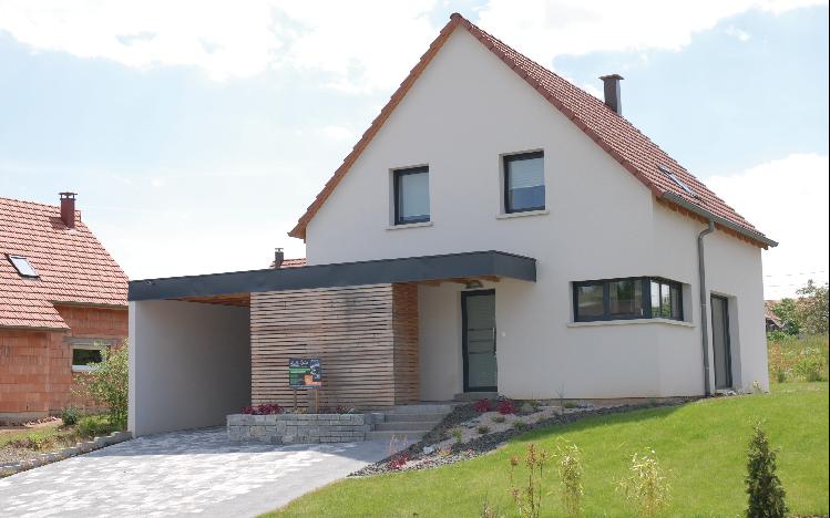 Maison Oikos traditionnelle, témoin à Obernai - OÏKOS