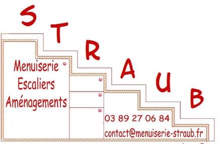 LOGO Menuiserie Escaliers Straub