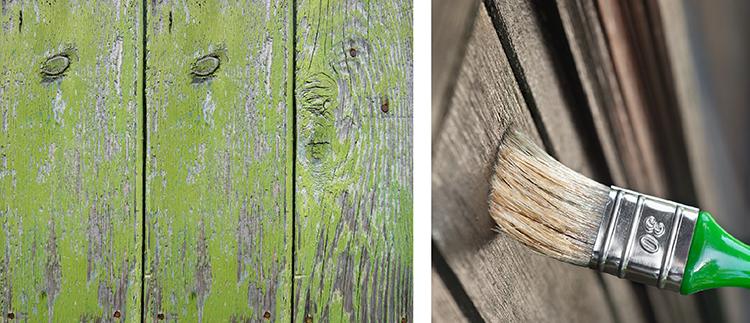 repeindre des volets en bois - 123Habitat