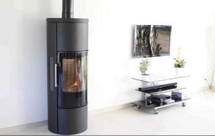 Poêle à bois HWAM 3650 avec accumulation Thermique - L'ÂTR'ACTIF