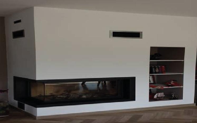 Foyer Ligne Ambiance Plus VLG 900 avec cadre métallique - L'ÂTR'ACTIF
