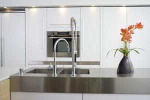 plan de travail de cuisine en inox - 123Habitat