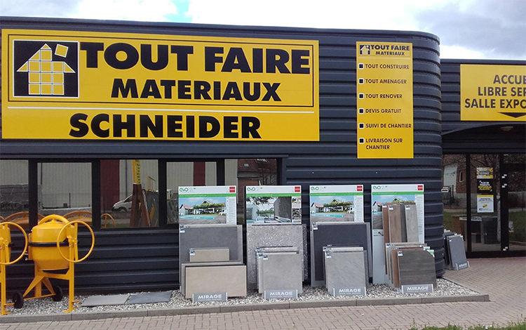 À Triembach-au-Val - TOUT FAIRE MATÉRIAUX SCHNEIDER